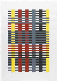 connections (portfolio of 9) by anni albers