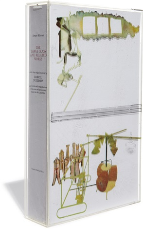 the large glass and related works vol i by arturo schwarz set of 9 works by marcel duchamp