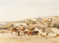 fontaine à nazareth by antoine-alphonse monfort