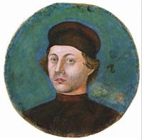 portrait d'homme de trois-quarts by alesso baldovinetti