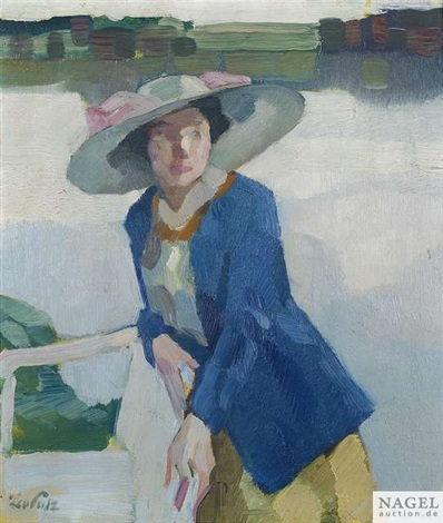 frieda am langenbürgner see by leo putz