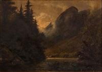 mountain landscape by edward hill