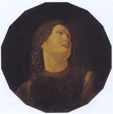 ritratto di un giovane by domenico ghirlandaio
