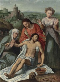 the lamentation by joos van cleve