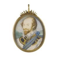 portrait of a nobleman by nicholas hilliard