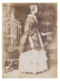 lady georgina ryder (collab. w/robert adamson) by david octavius hill