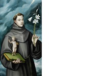 saint anthony of padua by spanish school-toledo (17)