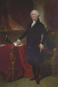 portrait of george washington by william swain