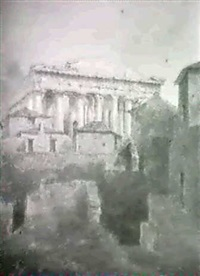 the west end of the parthenon; and entrance to the acropolis(2) by sir robert smirke