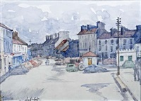 market street, clifden by maurice macgonigal