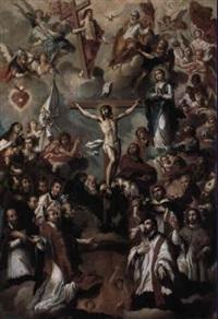 la glorificacion de la fé christiana by jose ibarra