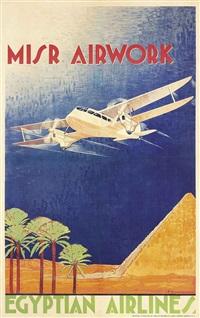 misr airwork, egyptian airlines by n. strekalovsky