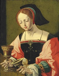 saint mary magdalene by antwerp school
