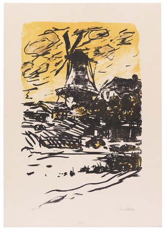 mühle by emil nolde