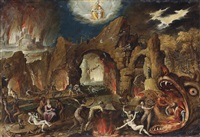 the harrowing of hell by jakob isaacsz swanenburgh