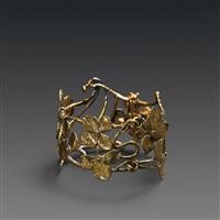 interlaced bracelet by claude lalanne
