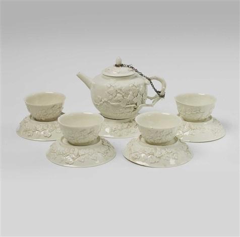 an early boettger porcelain teaservice