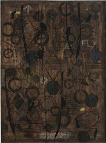 fly by rashid johnson