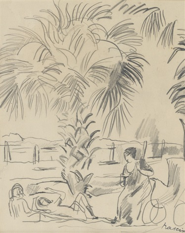 palmiers by jules pascin