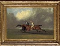a match race between