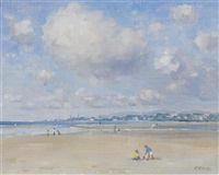 incoming tide, merrion strand by david hone
