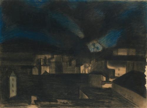 nocturne by joseph stella