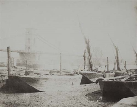 hungerford bridge by william henry fox talbot
