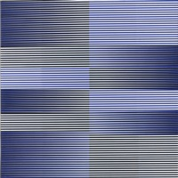 induction chromatique nº 19 by carlos cruz-diez