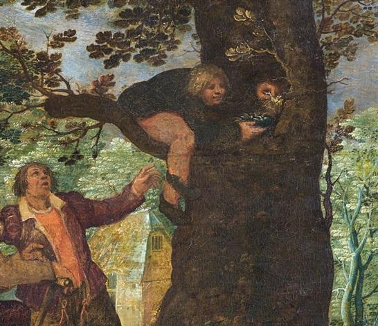 les dénicheurs doiseaux by david vinckboons