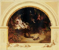 titania asleep by robert (huskisson) huskinson