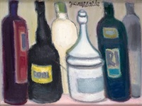 familia de botellas by juan alcalde