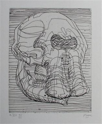 line drawing by henry moore