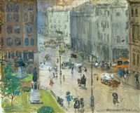 city streets by gifford beal