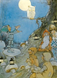 o! white little ball, so tender and small by mabel lucie attwell