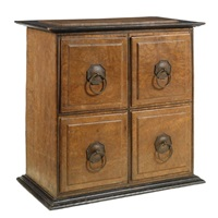 a dwarf chest of drawers by ernest william gimson