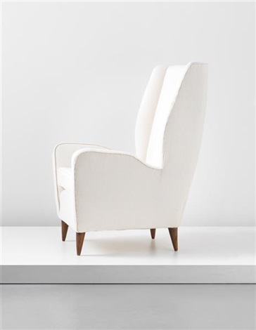 wingback chair by gio ponti