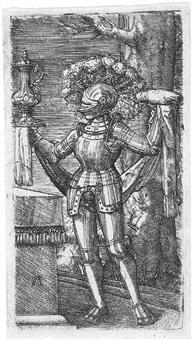 der ritter (das opfer des melchisedek) by albrecht altdorfer