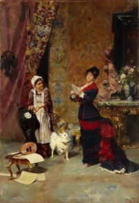 reading the news by francisco peralta del campo