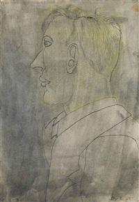 peter watson by lucian freud