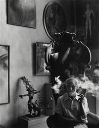 max ernst by arnold newman