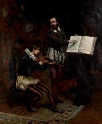 la leçon de musique by zygmunt sokolowski
