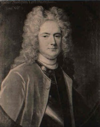 portrait of maurice thompson, lord haversham by john kerseboom