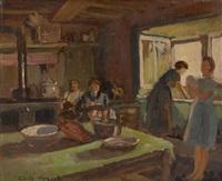 travaux domestiques au soleil by cecile mersch