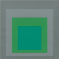 untitled from hommage au carré by josef albers