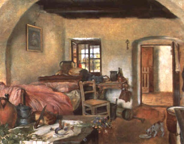 bäuerliches interieur by edmund adler