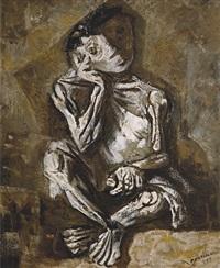 menino sentado by candido portinari