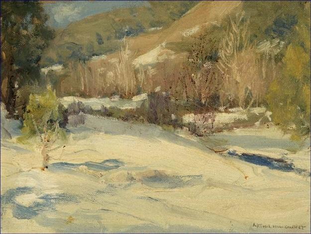 mill creek ojai valley by arthur hill gilbert