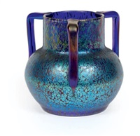 vase by johann loetz