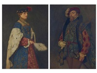 lady margaret s.s; henry of cranstoun s.s. (2 works) by james dromgole linton