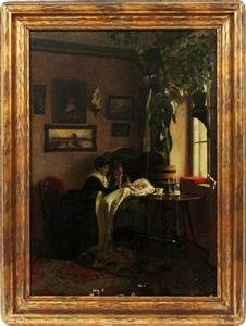 interior scene by oswald stieger